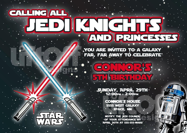 Star Wars Invitations Free Printable   Star Wars   Star Wars - Star Wars Invitations Free Printable