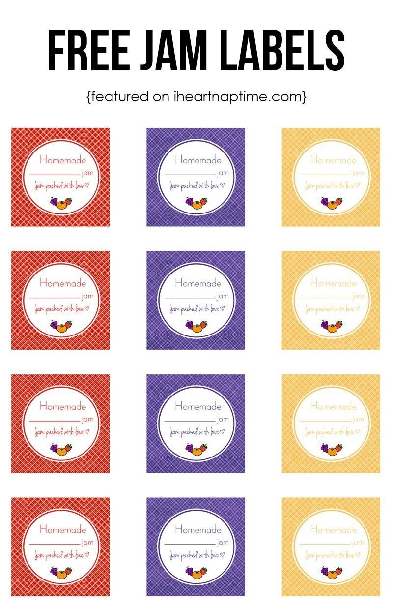 Strawberry Jam | Recipe | Pins I Love | Strawberry Jam, Homemade - Free Printable Jam Labels