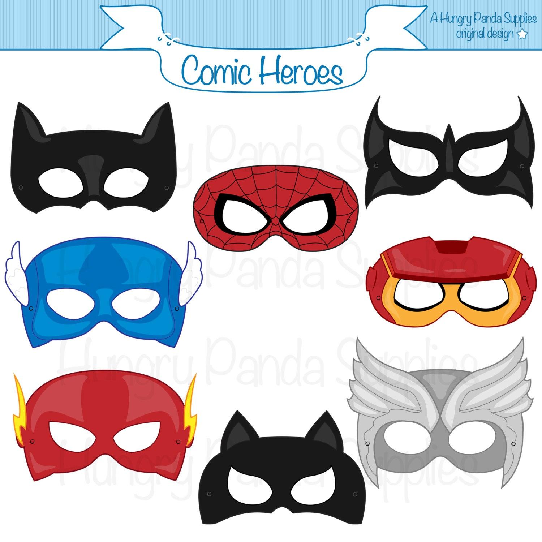 Super Hero Mask Template   Free Download Best Super Hero Mask - Free Printable Superhero Masks