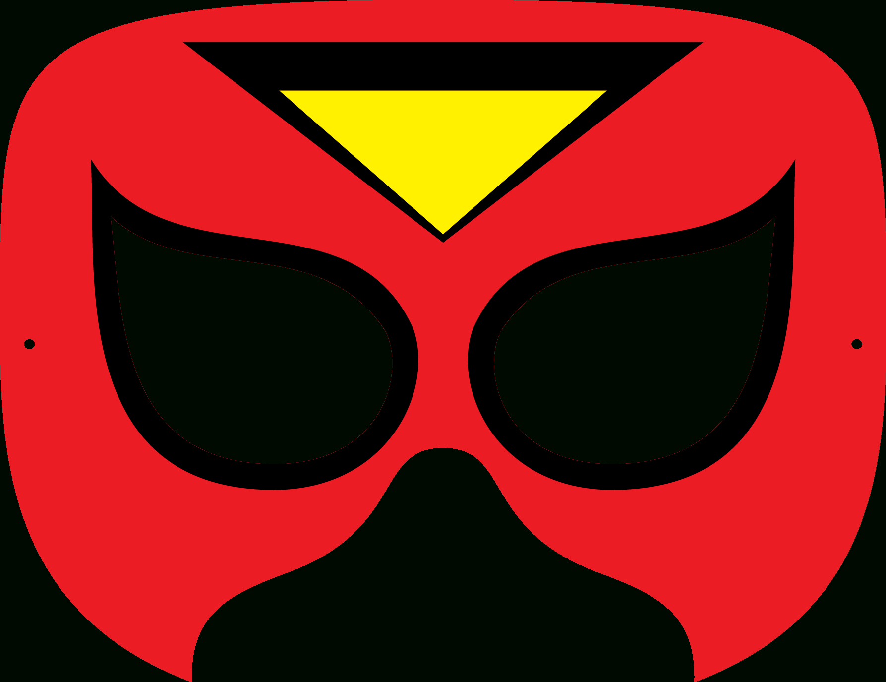 Superhero Mask Template   Free Download Best Superhero Mask Template - Free Printable Superhero Masks
