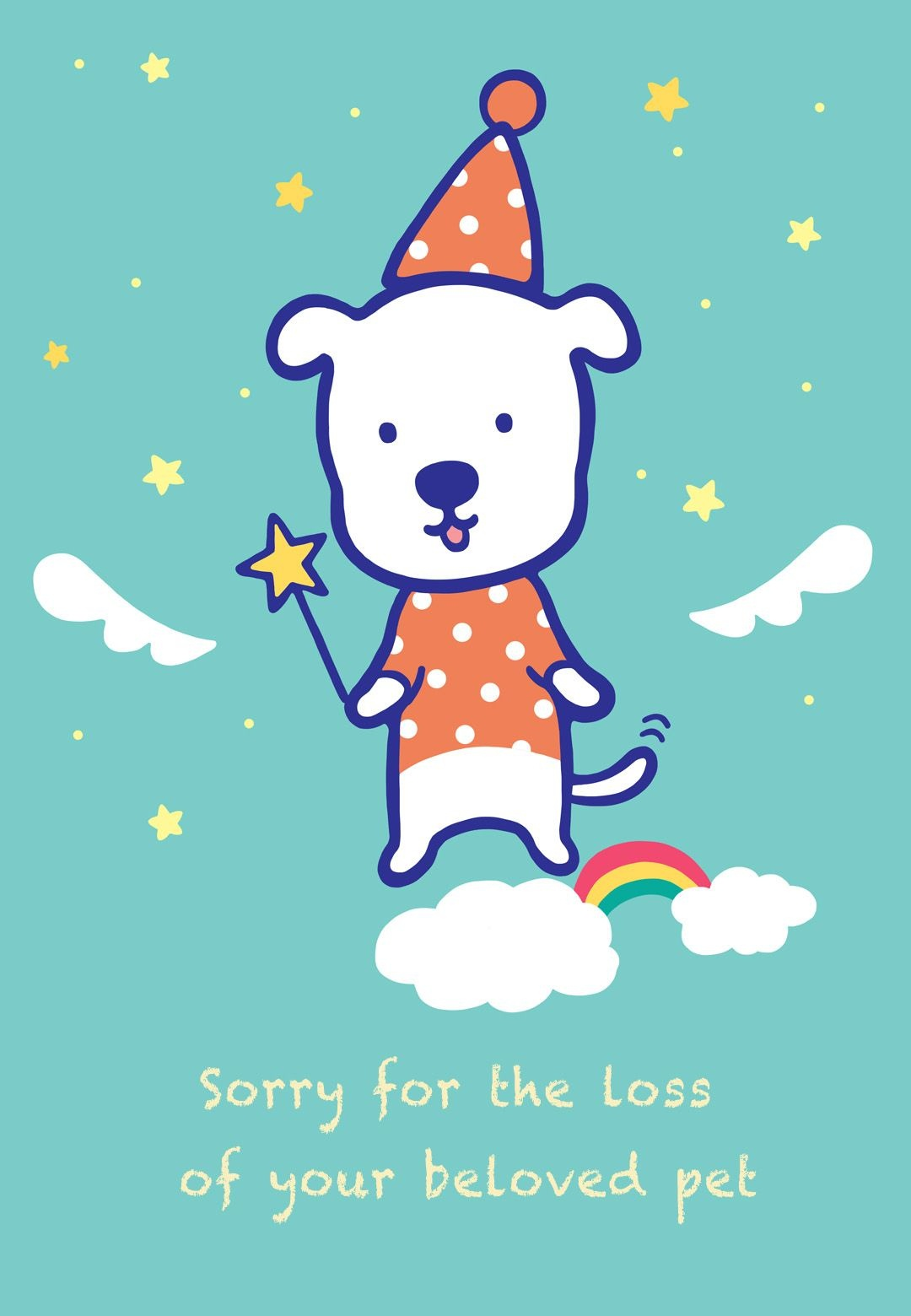 Sympathy #card For The Loss Of A #pet - Free Printable   Sympathy - Free Printable Sympathy Cards For Loss Of Dog