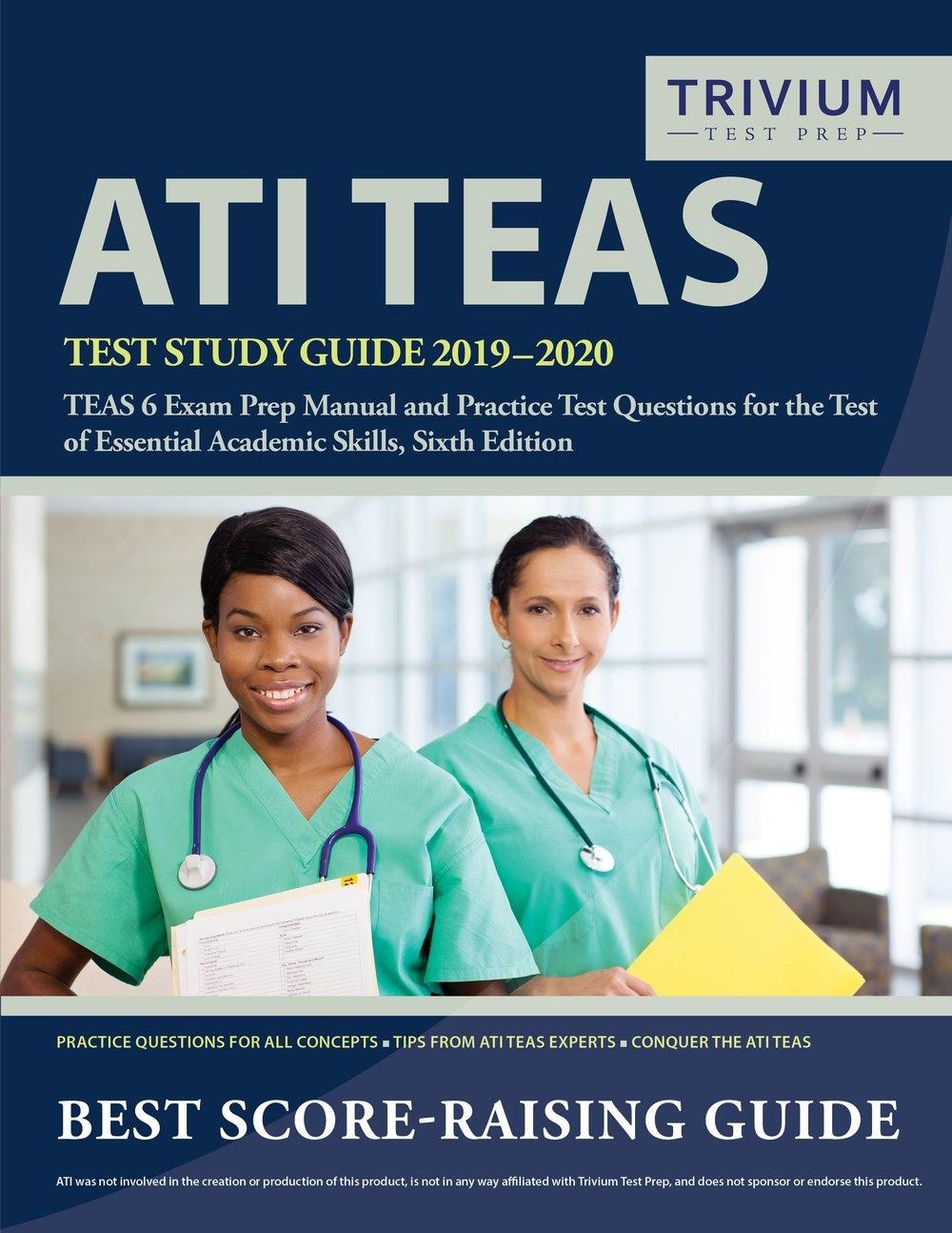 Teas 6 Practice Test — Trivium Test Prep Test Prep - Free Printable Teas Test Study Guide