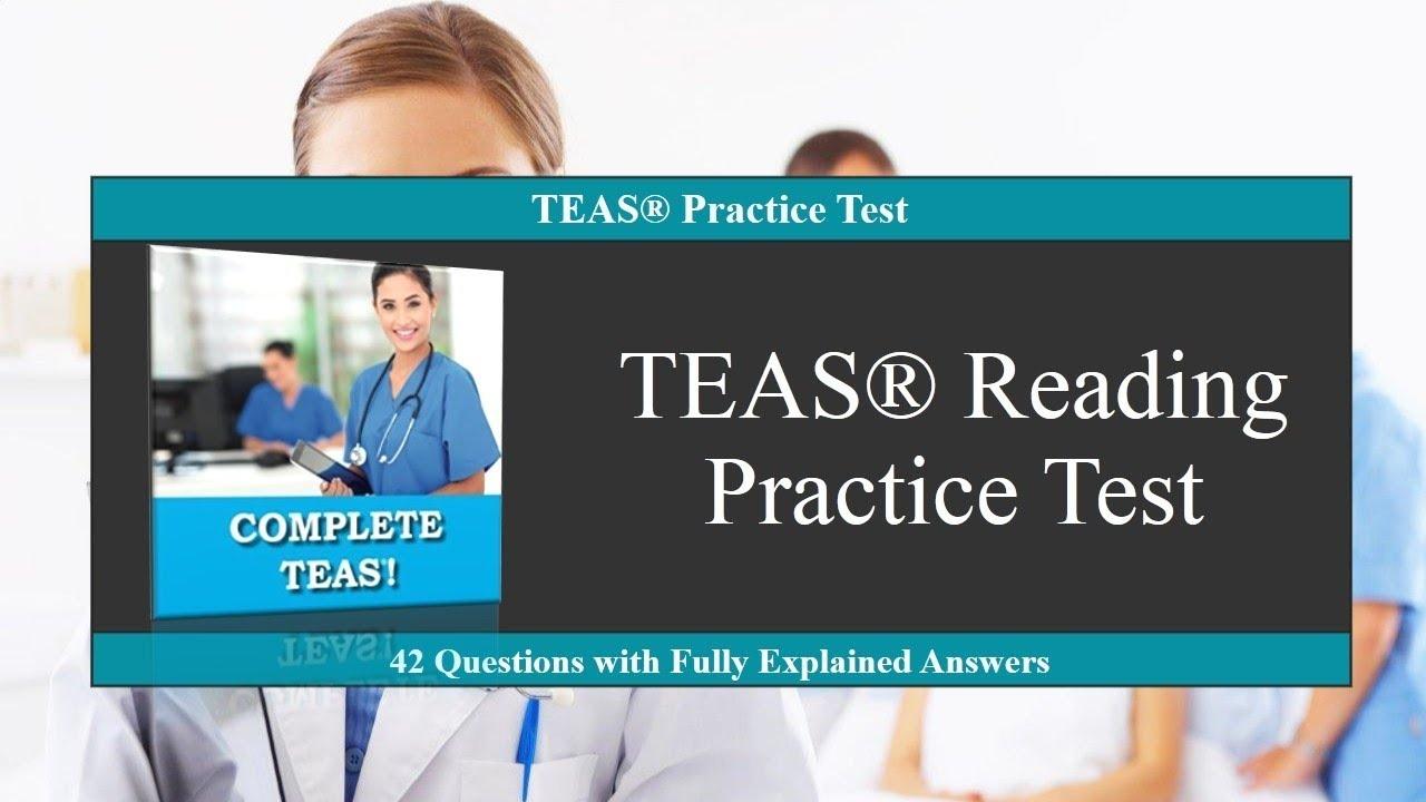 Teas Reading Practice Test - Free Printable Teas Test Study Guide