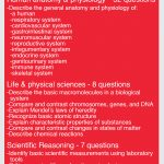 Teas Science   Content Areas Such As The Following: Human Anatomy   Free Printable Teas Test Study Guide