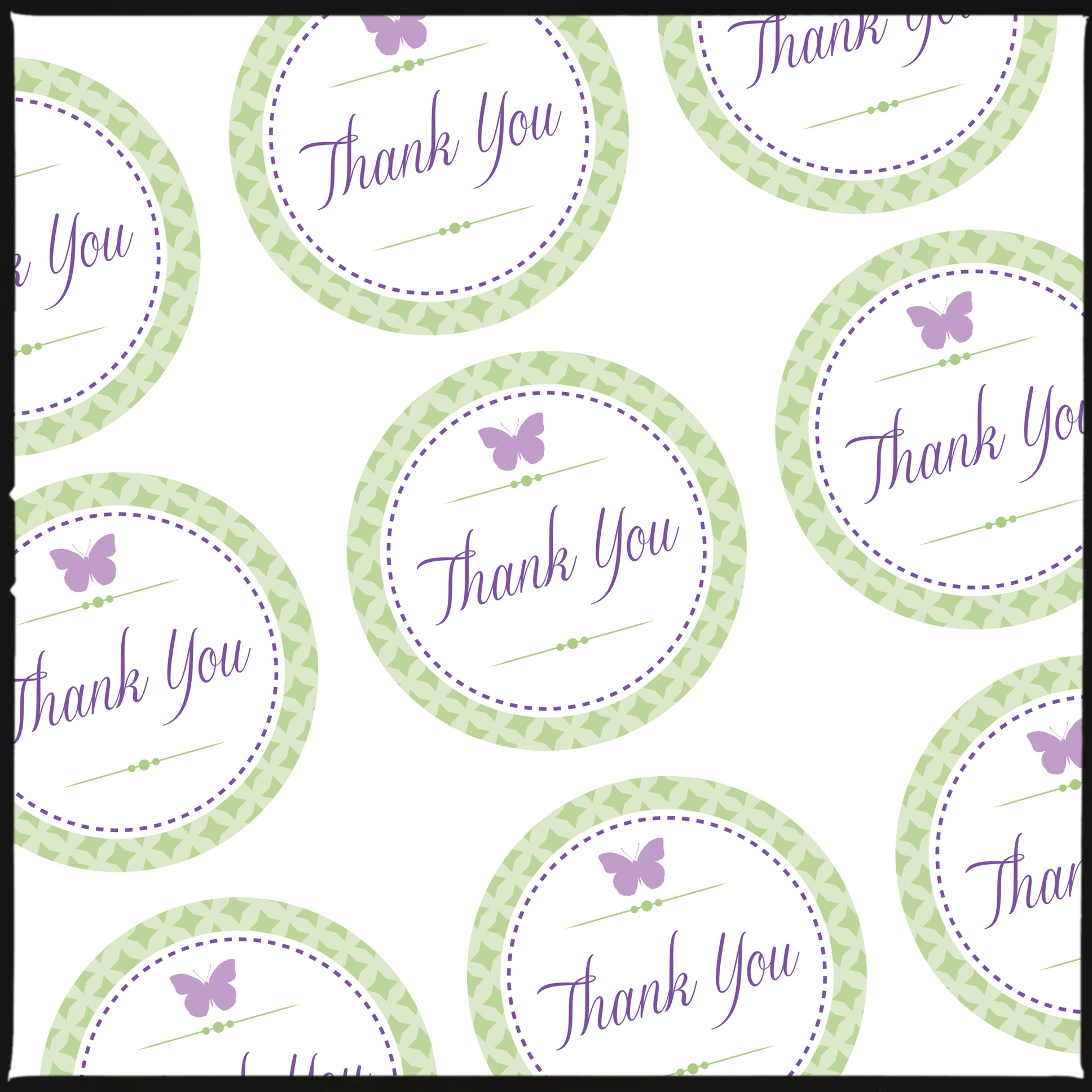 Thank You Tags For Pretty Gift Bags (& A Free Download For You - Free Printable Thank You Tags Template