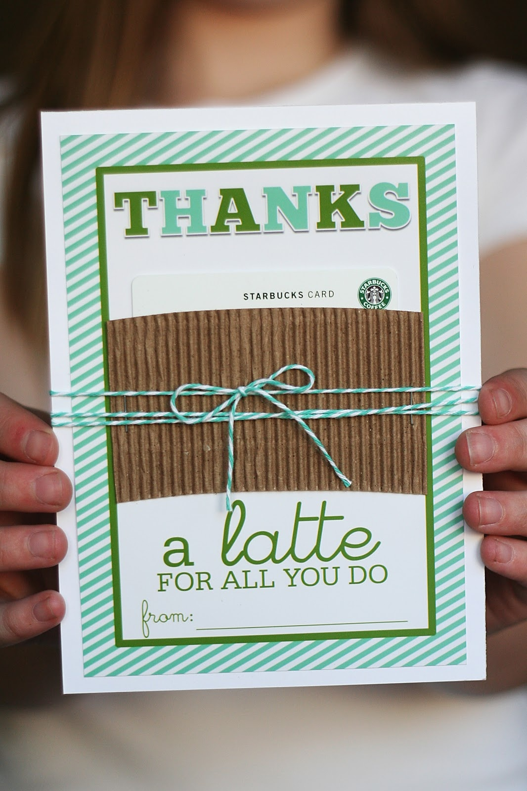 Thanks A Latte Card You Can Print For Free | Eighteen25 - Thanks A Latte Free Printable Gift Tag