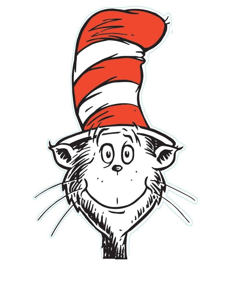 The Cat In The Hat Is A Legendary Character In The Picture Book, The - Free Printable Cat In The Hat Clip Art