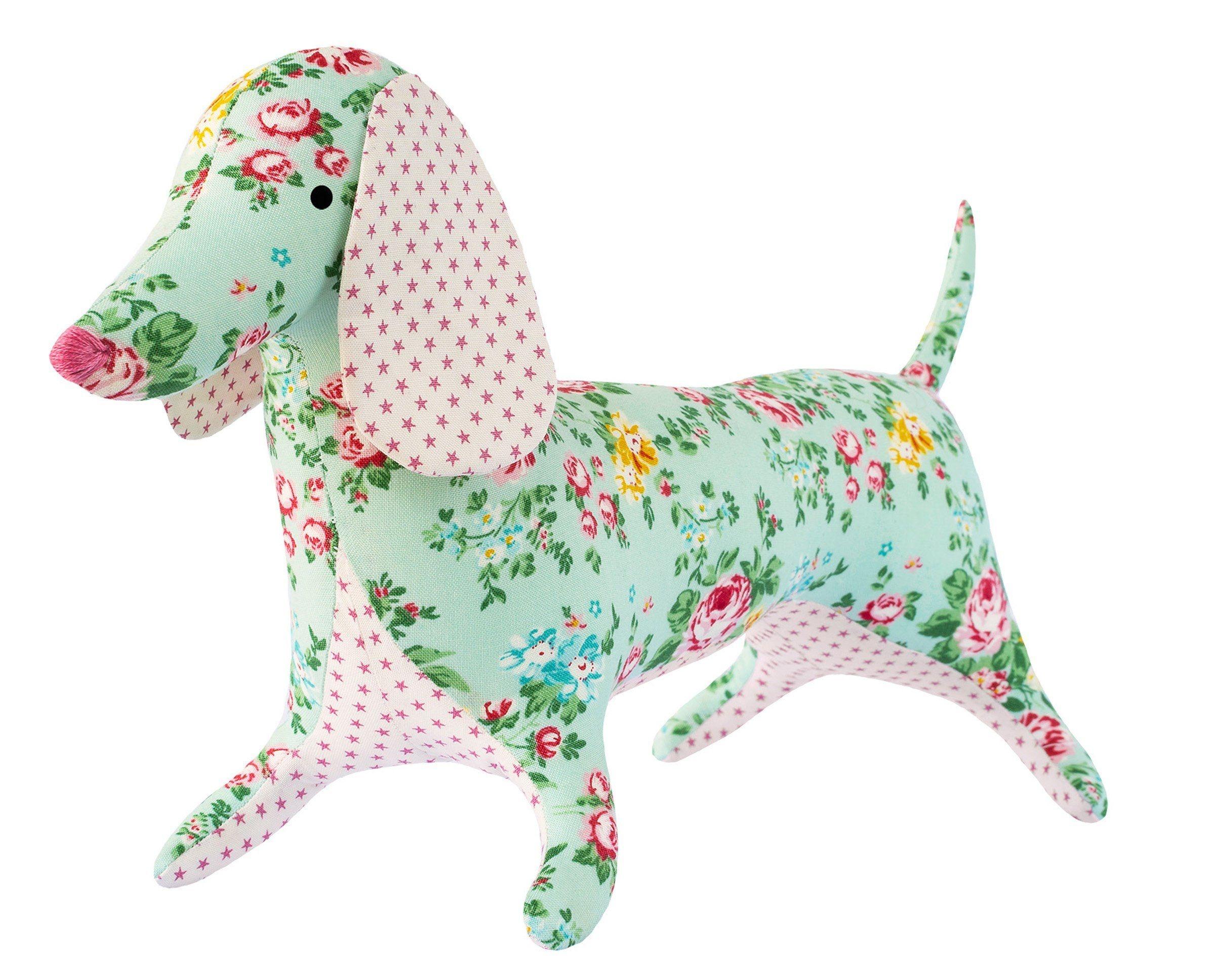 "Tilda Apple Butter Dapper Dachshund Sewing Kit   24"" Tall   Tilda - Free Printable Dachshund Sewing Pattern"