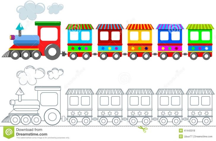 Free Printable Train Pictures