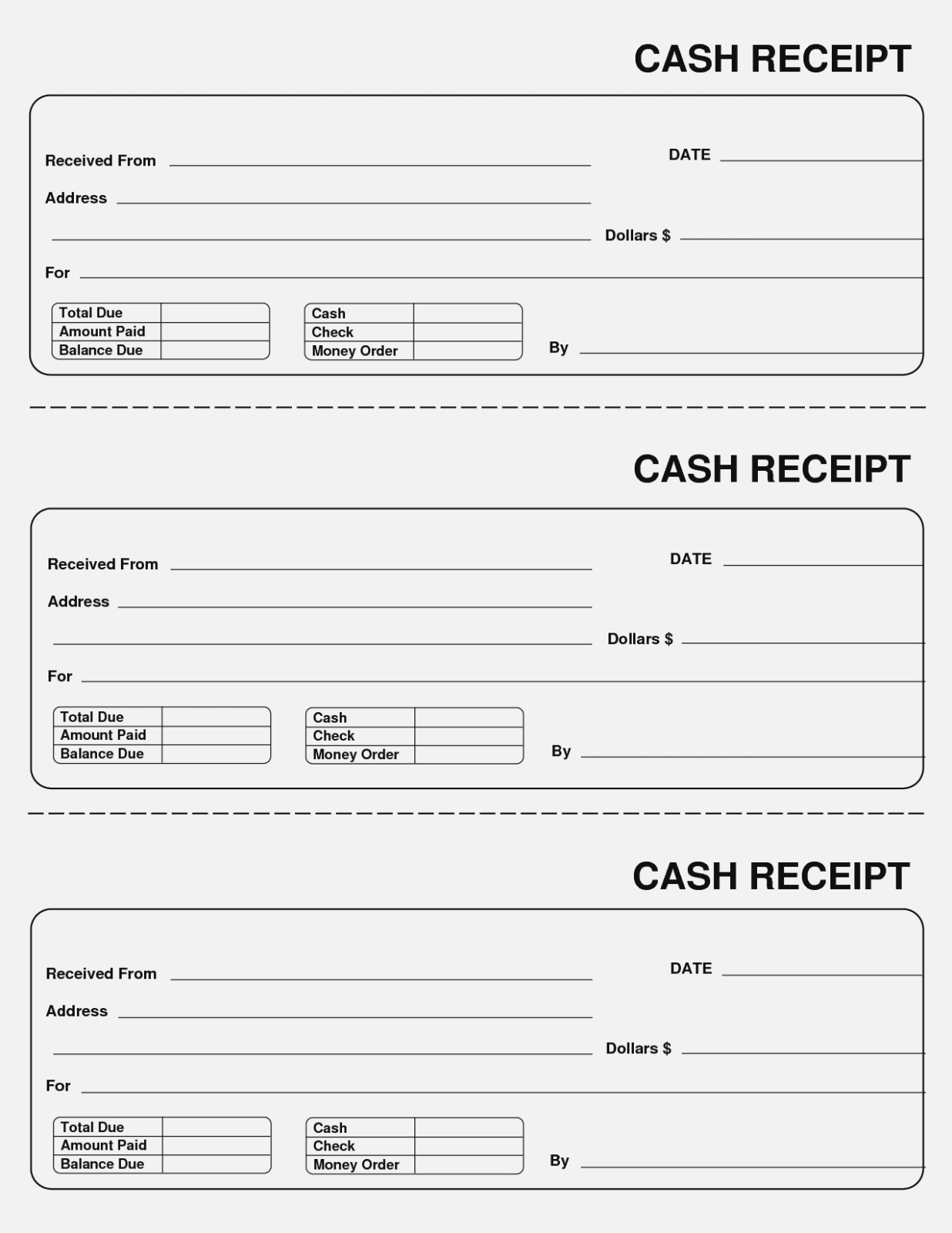 Why You Must Experience | Realty Executives Mi : Invoice And Resume - Free Printable Sales Receipts Online
