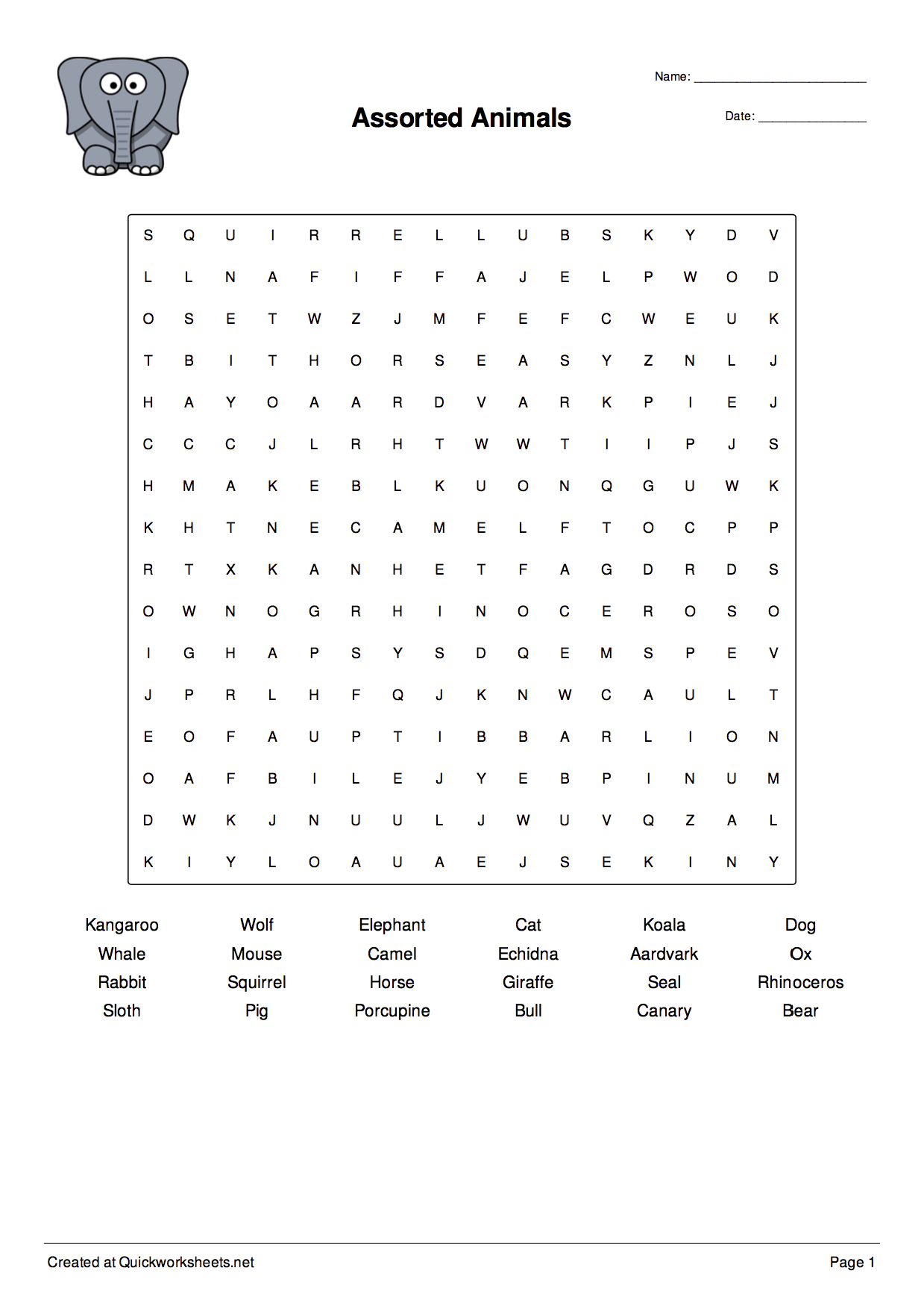 Word Scramble, Wordsearch, Crossword, Matching Pairs And Other - Free Word Scramble Maker Printable