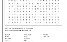 Word Search Puzzle Generator – Make Your Own Search Word Puzzle Free Printable