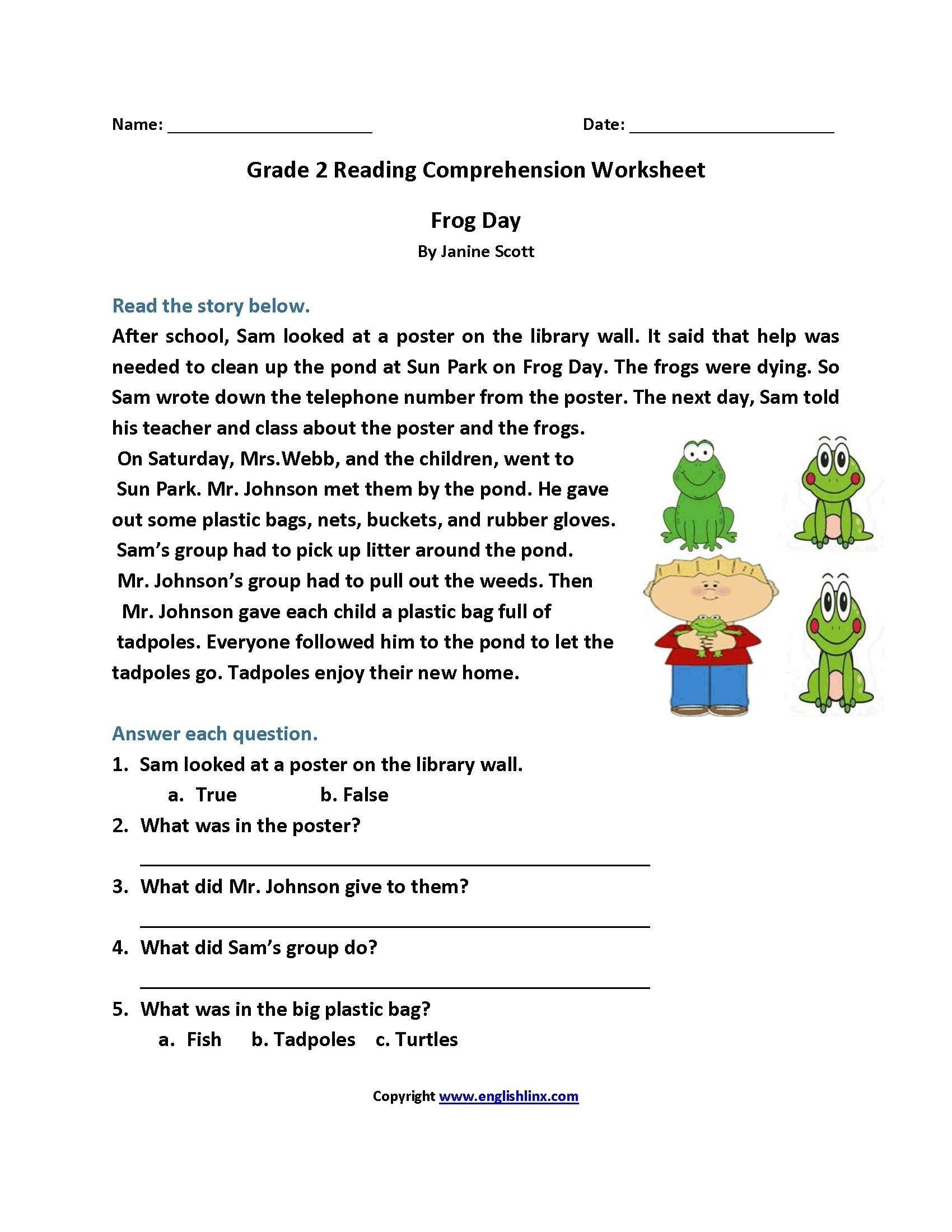 Worksheet : Free Printable Short Stories With Comprehension - Free Printable Reading Comprehension Worksheets Grade 5