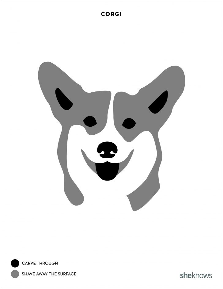 Free Printable Pumpkin Carving Templates Dog